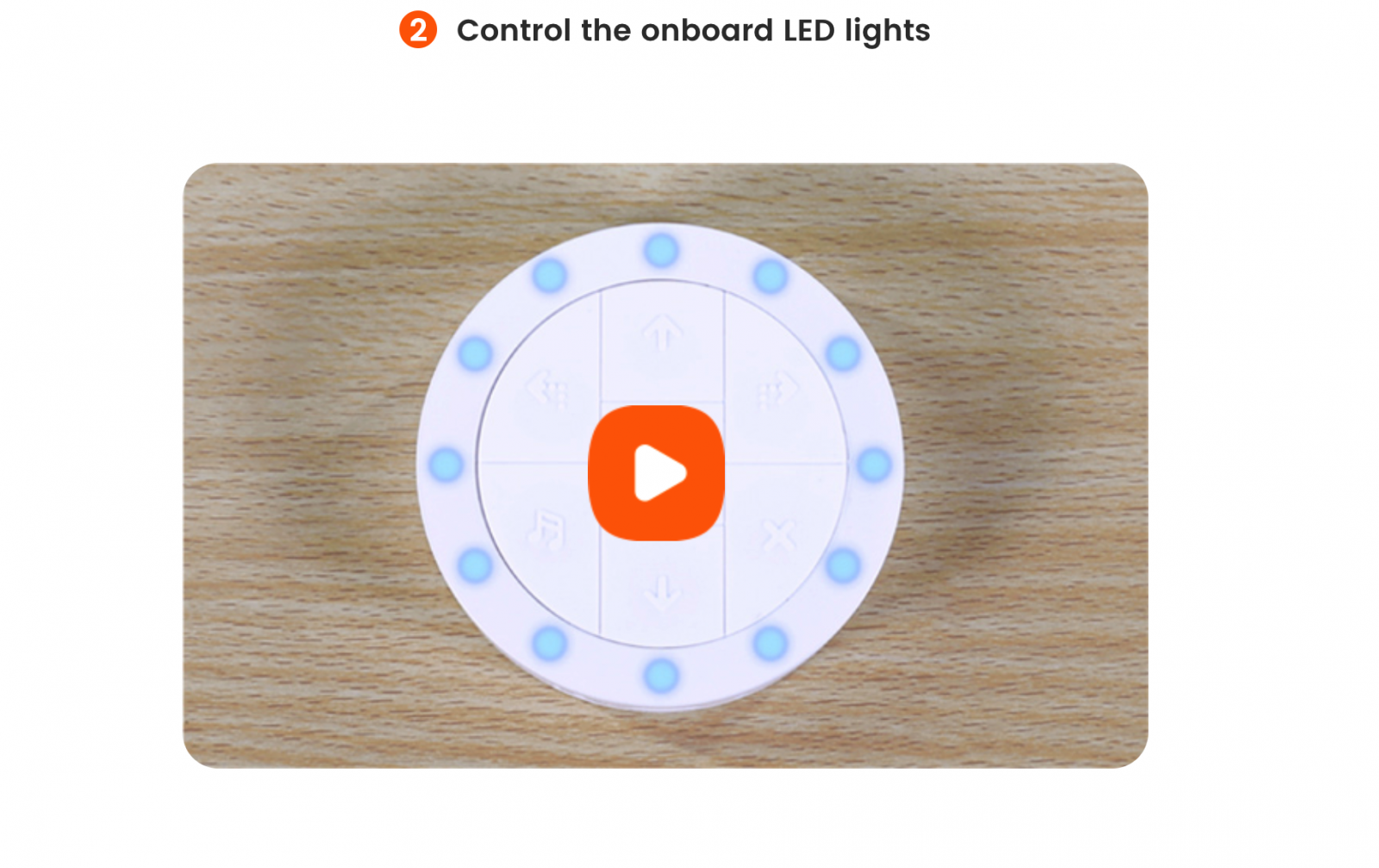 Control the Onboard LED Light - Coding Kits for Kids - Matatalab