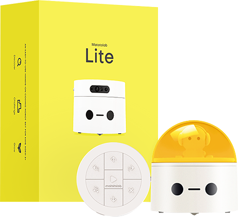 Yellow package of Matatalab Lite - Programming Kit - Matatalab