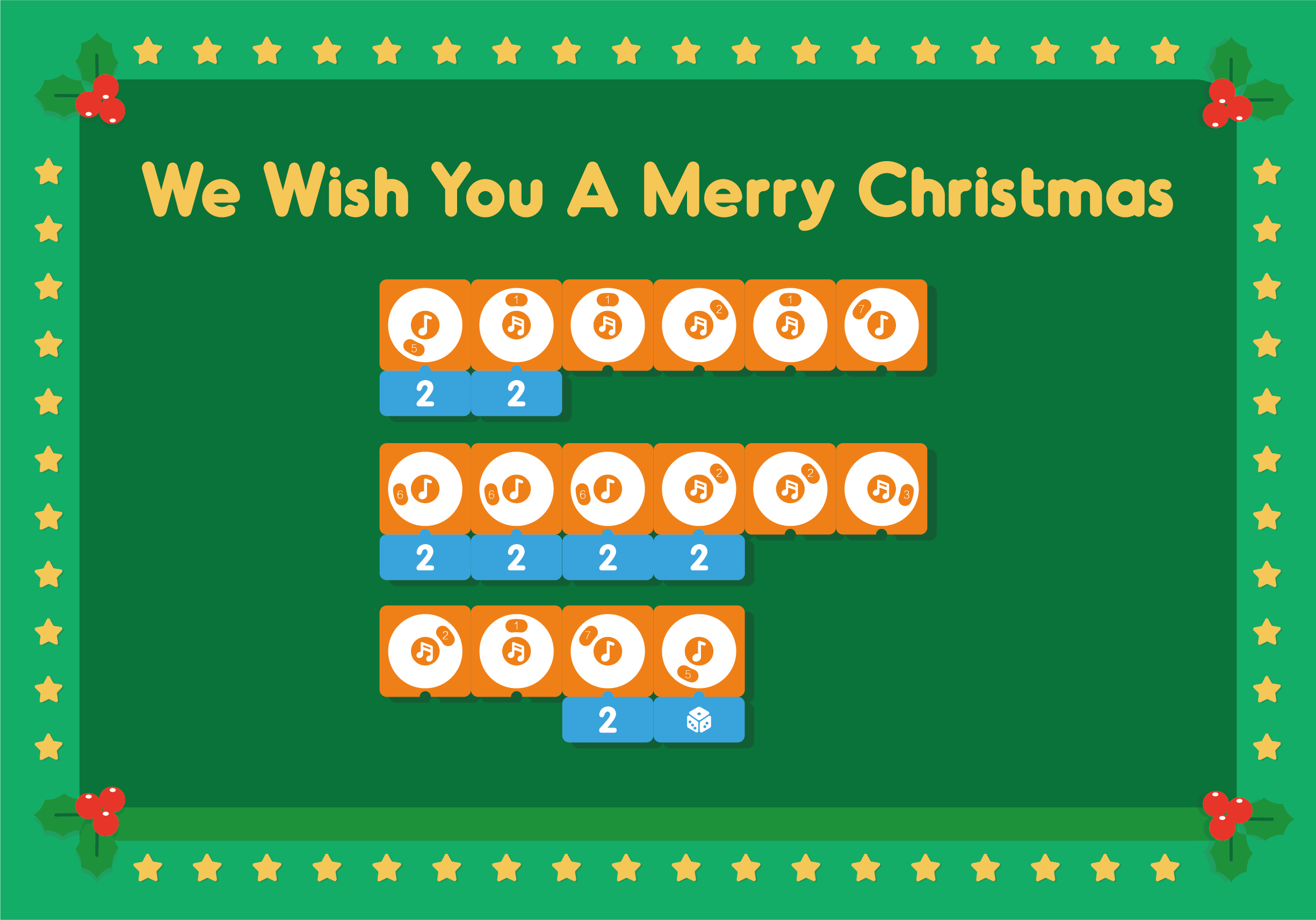 We Wish You A Merry Christmas - Coding Toys - Matatalab