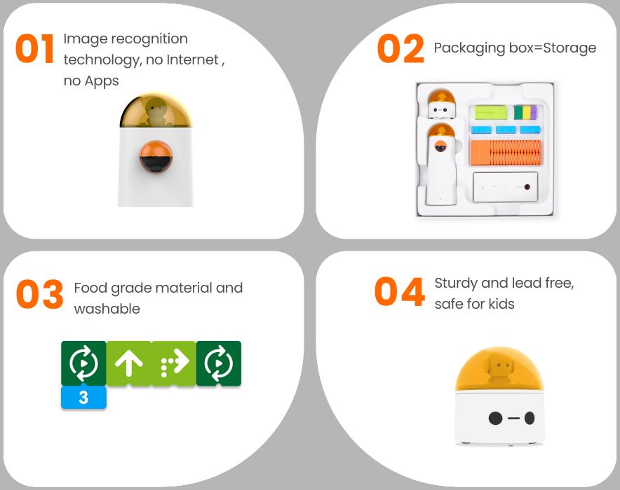 Features of Matatalab Pro Set - Coding Toys - Matatalab