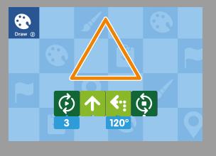 Triangle Icon on Coding Toys - Matatalab