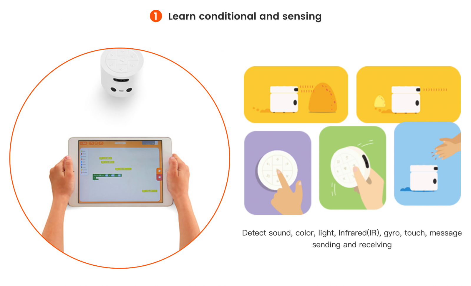 Learn Conditional and Sensing - Coding Toys - Matatalab