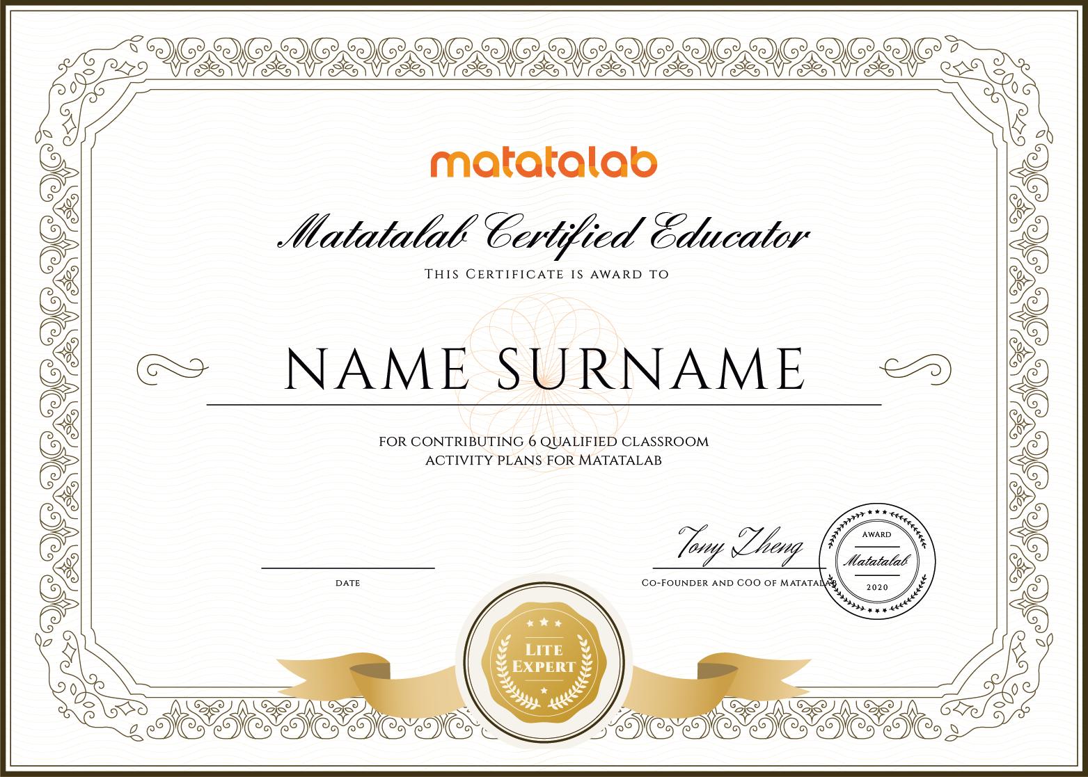 Matatalab Certified Teacher - Programming Kit - Matatalab
