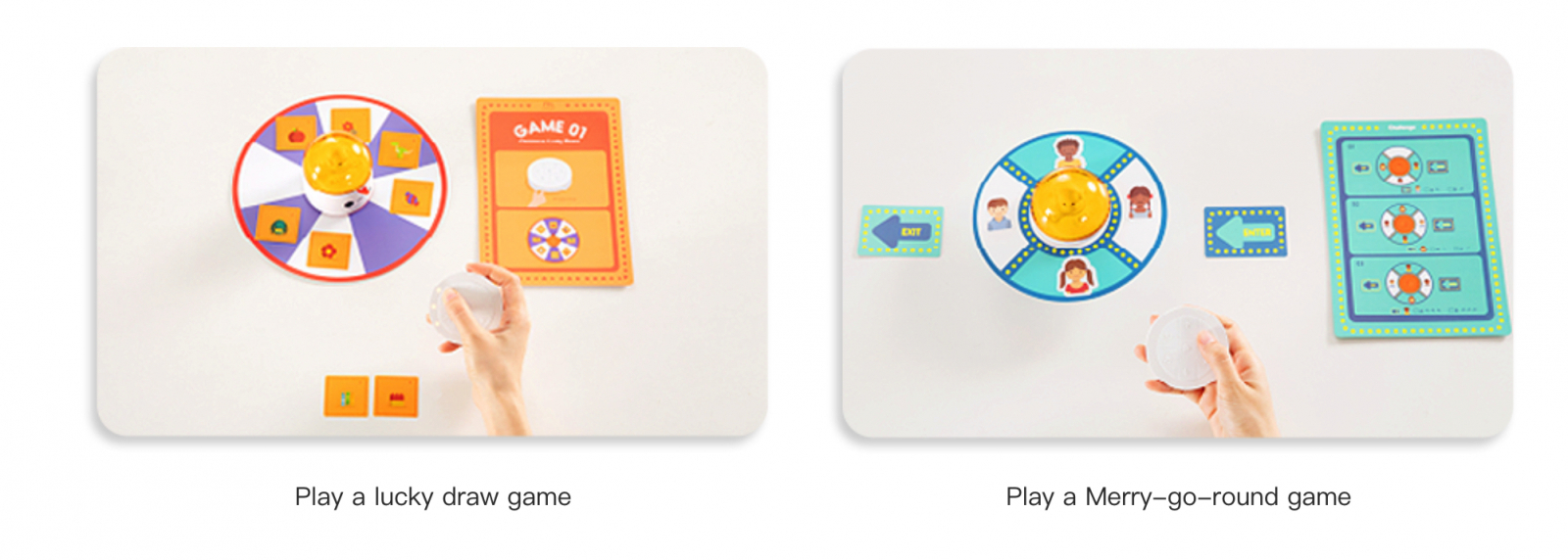 Play a lucky draw game with Matatalab Lite - Coding Toys - Matatalab