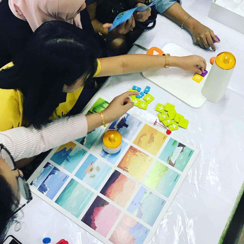 Singapore preschool students using matatalab