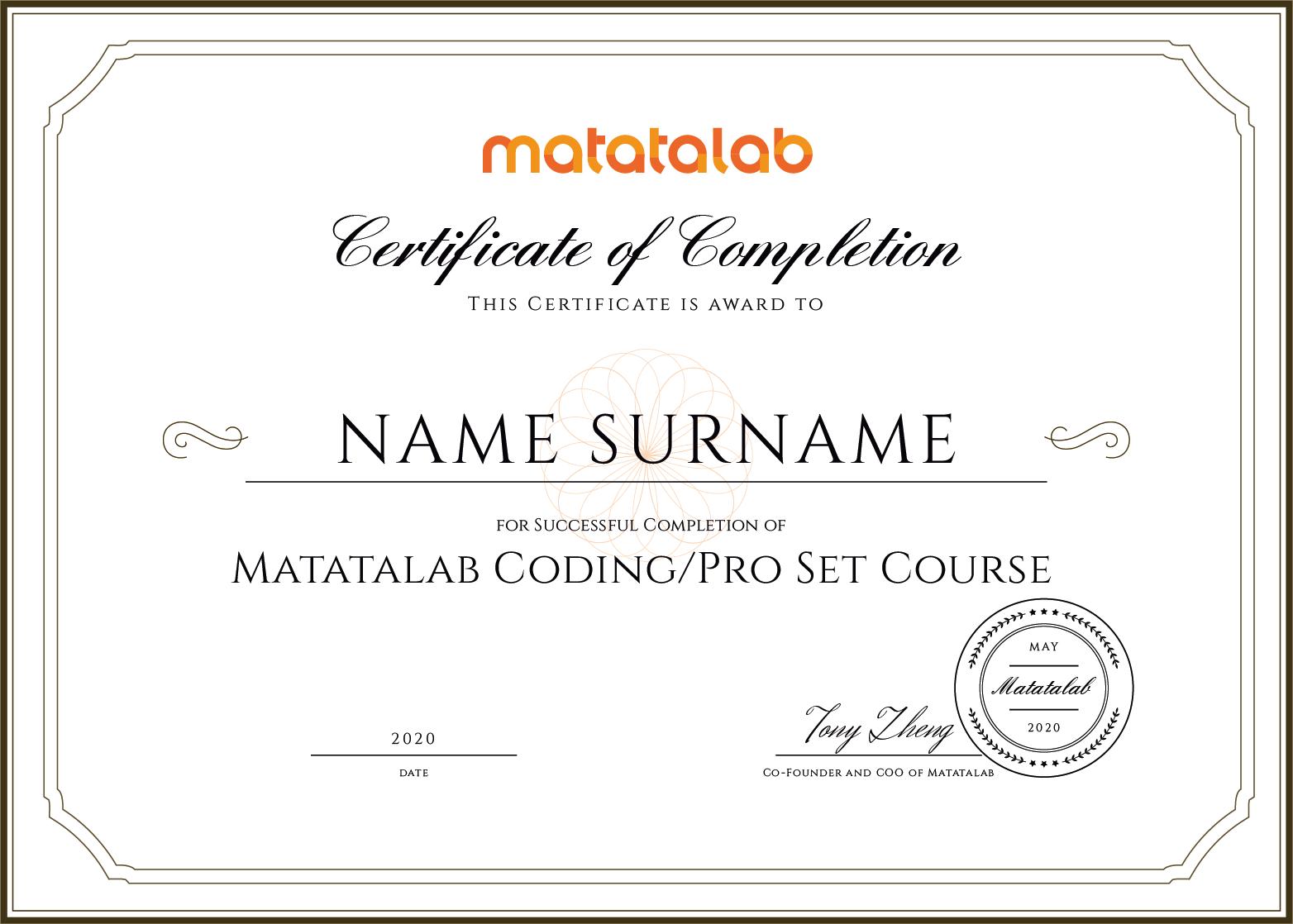 Matatalab Coding Set Course - Coding Toys - Matatalab