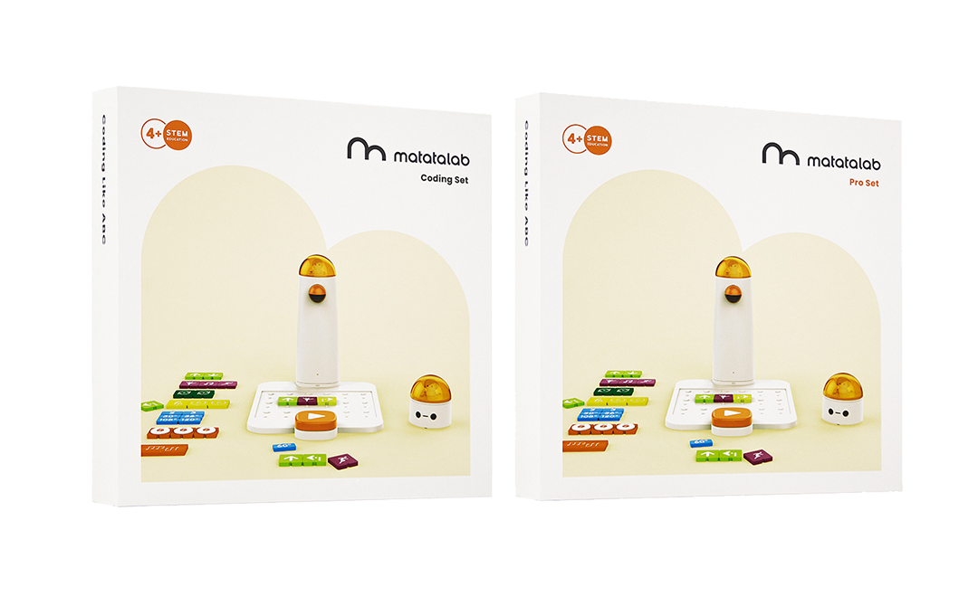 Coding Set for 4+ years old - Robotics for kids - Matatalab